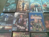 SPLENDID VARIETY OF 50 DVDs