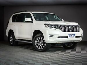 2019 Toyota Landcruiser Prado GDJ150R Kakadu White 6 Speed Sports Automatic Wagon Maddington Gosnells Area Preview