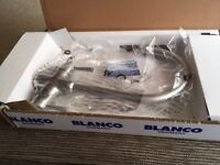 Brand new BLANCO ARTI BM4552 mixer tap in brushed steel. Still boxed.