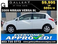 2009 Nissan Versa SL $99 BI-WEEKLY APPLY NOW DRIVE NOW