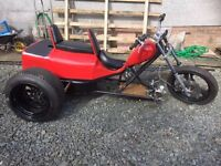 Motorcycle Trike (unfinished project) swap/ Px ??????