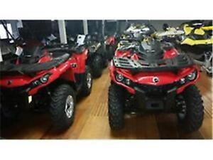 2016 CAN-AM Outlander 570 DPS ONLY 2 LEFT