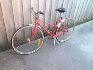 Mixte bicycle Vogue Tange 900 CroMo frame, Vintage early 80s,EC