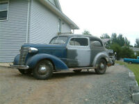 1938 Chevrolet Master Town Sedan barn find