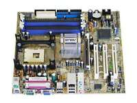 Computer Part: ASUS Mother Board with 3.2 GHz Intel CPU