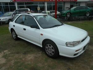 1999 Subaru Impreza N MY00 GX AWD White 5 Speed Manual Hatchback Kippa-ring Redcliffe Area Preview