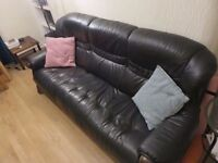 Leather Sofa Set - Great Value