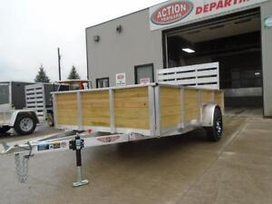 ALL ALUMINUM HIGH SIDED 6.5 X 12' LANDSCAPE TRAILER LOWEST PRICE London Ontario image 2