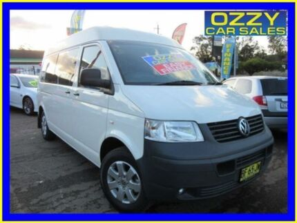 2009 Volkswagen Transporter T5 MY08 (SWB) White 6 Speed Tiptronic Van Penrith Penrith Area Preview