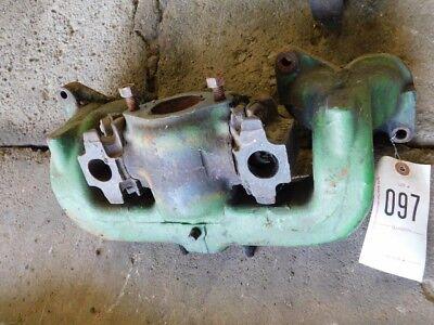 John Deere 3020 Tractor Air Intake Gas Manifold Part R33189r Tag 097