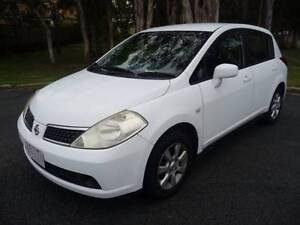 2006 Nissan Tiida Hatch..AUTOMATIC with VERY LONG REGO & LOW K's Southport Gold Coast City Preview