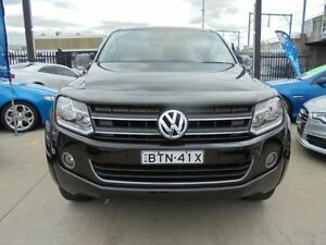 2011 Volkswagen Amarok 2H TDI400 Ultimate Black 6 Speed Manual 4D Utility Holroyd Parramatta Area Preview