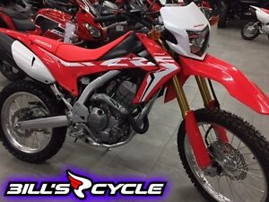 2017 HONDA On Road CRF 250 LH   Dual Sport Red