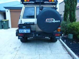 GQ Patrol Kaymar Rear Bar With Single Jerry Can Holder / Tow bar Landsdale Wanneroo Area Preview