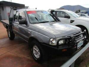 2006 Ford Courier 4x4 Xcab F/Tray Glenorchy Glenorchy Area Preview