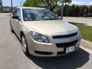 2011 Chev Malibu with very low mileage