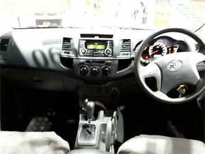 2013 Toyota Hilux KUN26R SR White Automatic Utility Hillvue Tamworth City Preview