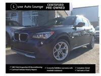 SPORTY! 2012 BMW X1 SPORT PACKAGE, PANORAMIC SUNROOF, XDRIVE!!