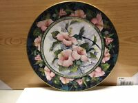 Blue-Throated Sylph Hummingbird collectible plate (Royal Doulton)