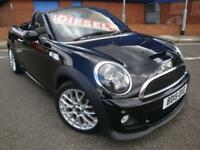 15 MINI ROADSTER COOPER S D CHILI PACK AUTO DIESEL SOFTTOP *SAT NAV*