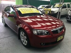 2008 Holden Calais VE MY08.5 Maroon 5 Speed Automatic Sedan Five Dock Canada Bay Area Preview