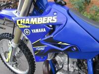 YAMAHA YZ250 2004 MX MOTO CROSS OFF ROAD BIKE