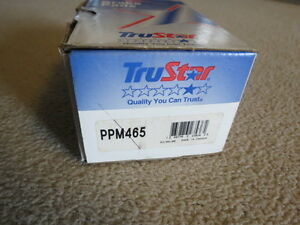 Tru Star PPM465 Disc Brake Pad- Semi-Metallic Pads, Front