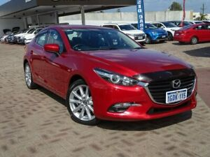 2016 Mazda 3 BM5238 SP25 SKYACTIV-Drive Red 6 Speed Sports Automatic Sedan Morley Bayswater Area Preview