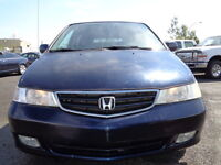 2004 Honda Odyssey EX-L-LEATHER-SUNROOF-POWER SLIDING--DVD-HDTV