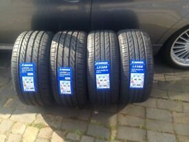 CAR TYRES 225 40 18 91W & 255 35 18 xl 94w TYRE SET brand new MERCEDES TYRES