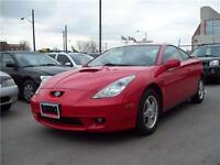 2002 Toyota Celica GT Auto, A-rims, Fog-L, ONLY 127km !!