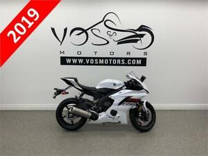 2019 Yamaha R6 - V3472 - No Payments For 1 Year**