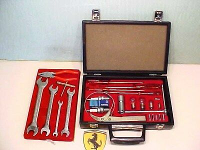 Ferrari Tool Kit_Briefcase_Oil Filter_Spark Plug Wrench_Screwdriver_365 512_OEM