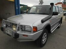 2001 Ford Courier PE XLT (4x4) Silver 5 Speed Manual 4x4 Crewcab Christies Beach Morphett Vale Area Preview