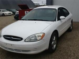 2001 Ford Taurus SE 158KMS $2300 MIDCITY  1831 SK AVE