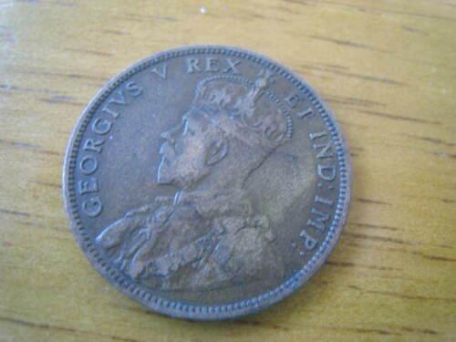 Canada 1 One Cent 1911 Georgius Foreign Coin.