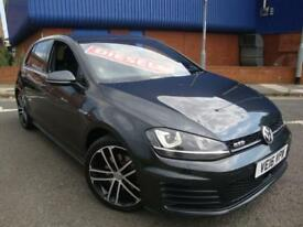 16 VW GOLF GTD 2.0TDI ( 184ps ) /£30 ROAD TAX //SNAV//