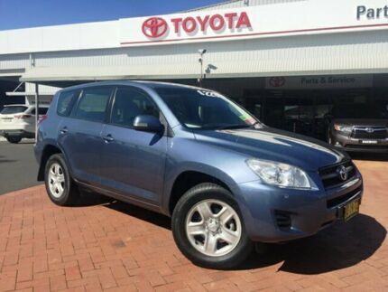 2012 Toyota RAV4 ACA38R CV (2WD) Blue Storm 5 Speed Manual Wagon Dubbo 2830 Dubbo Area Preview