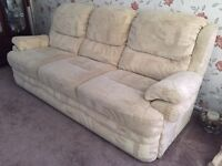 3 Piece Suite with Reclining Chairs