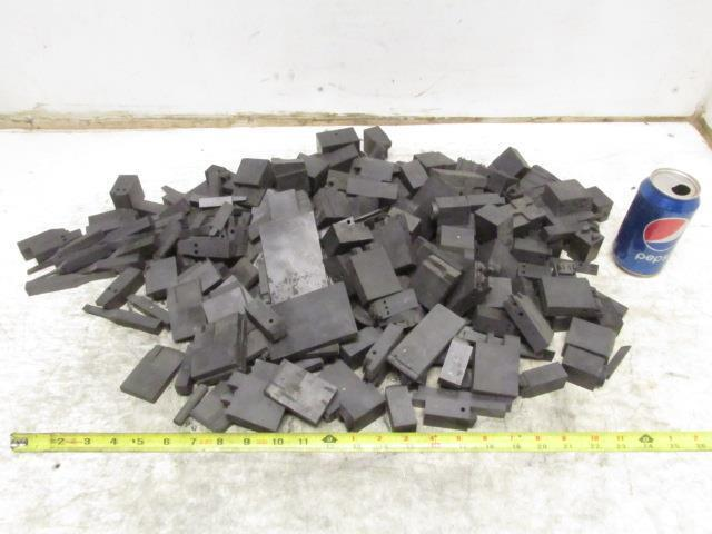 Carbon Graphite Scrap Pieces Mold Material 22.5 Lbs Various Shapes EDM Machine