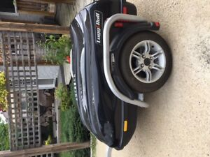Lugg and Roll Vehicle and Motorcyle Trailer