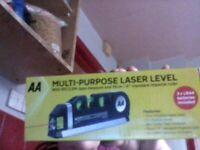 multi-purpose laser level