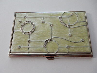 Metal Decorative Business Card Holder