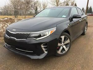2016 Kia Optima SX-Luxury TURBO  **LEATHER-NAV-SUNROOF**