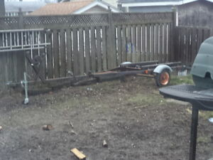 Complete Working Boat Trailer