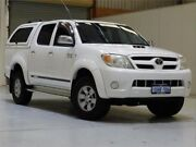 2005 Toyota Hilux KUN26R MY05 SR5 White 4 Speed Automatic Utility Bibra Lake Cockburn Area Preview