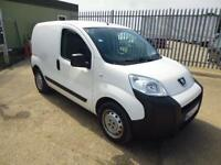 Peugeot Bipper 1.4 HDI 70 BHP S VAN DIESEL MANUAL WHITE (2013)