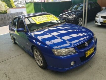 2005 Holden Commodore VZ SV6 Blue 5 Speed Automatic Sedan Five Dock Canada Bay Area Preview