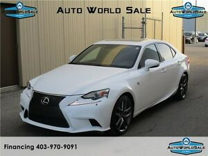 2015 LEXUS IS 350 F SPORT |NAV |CAM |Red Interior