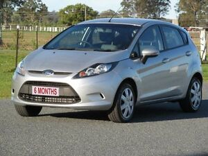 2009 Ford Fiesta WS CL Silver 4 Speed Automatic Hatchback Stapylton Gold Coast North Preview